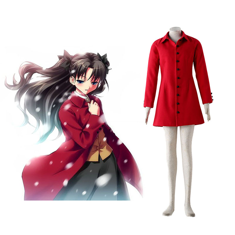 Disfraces The Holy Grail War Tohsaka Rin 4 Rojo Cosplay España Tiendas