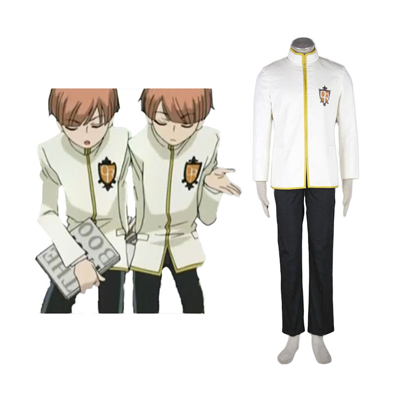 Disfraces Ouran High School Host Club Male Uniformeses Yellow Cosplay España Tiendas