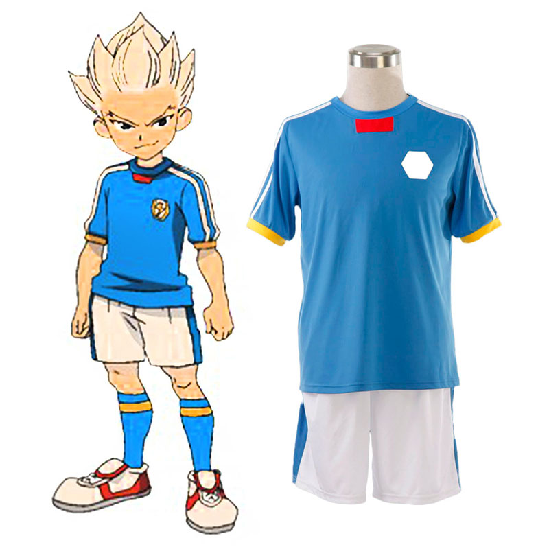 Disfraces Inazuma Eleven Japan National Team Verano 1 Cosplay España Tiendas