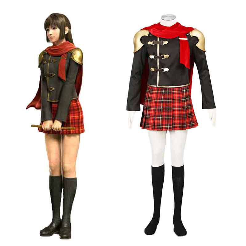 Disfraces Final Fantasy Type-0 Deuce 1 Cosplay España Tiendas