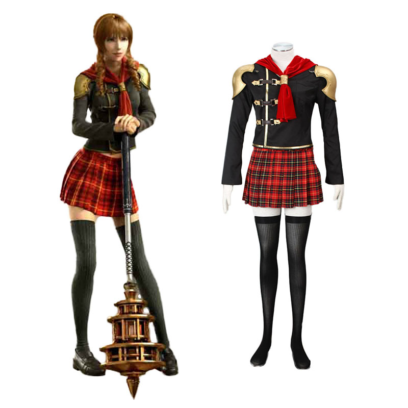 Disfraces Final Fantasy Type-0 Cinque 1 Cosplay España Tiendas