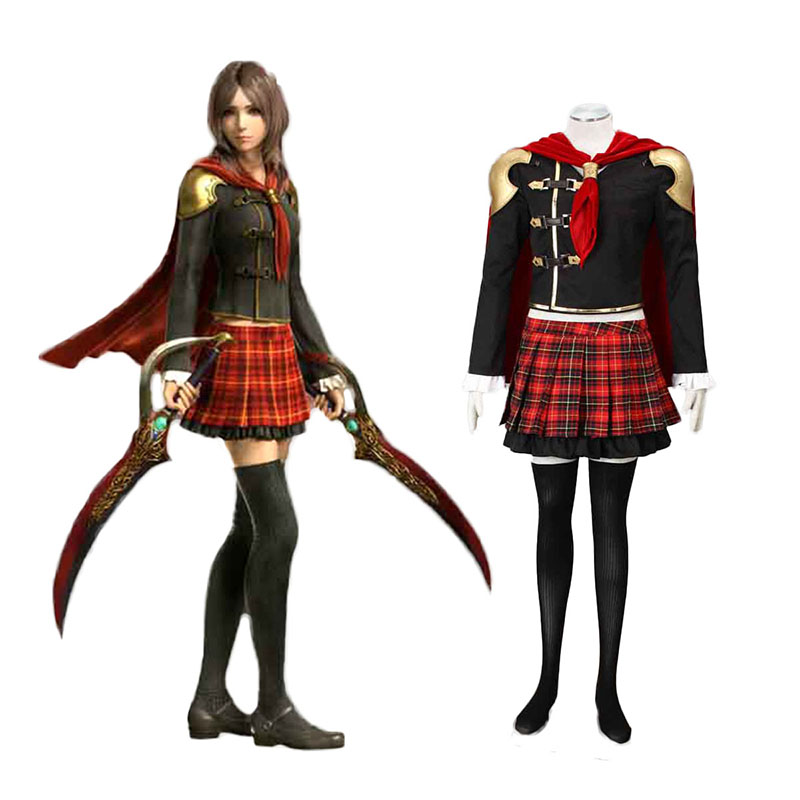 Disfraces Final Fantasy Type-0 Rem Tokimiya 1 Cosplay España Tiendas