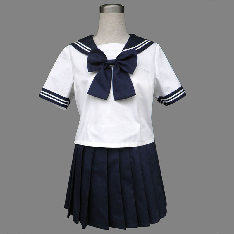 Disfraces Royal Azul Short Sleeves Sailor Uniformes 8 Cosplay España Tiendas