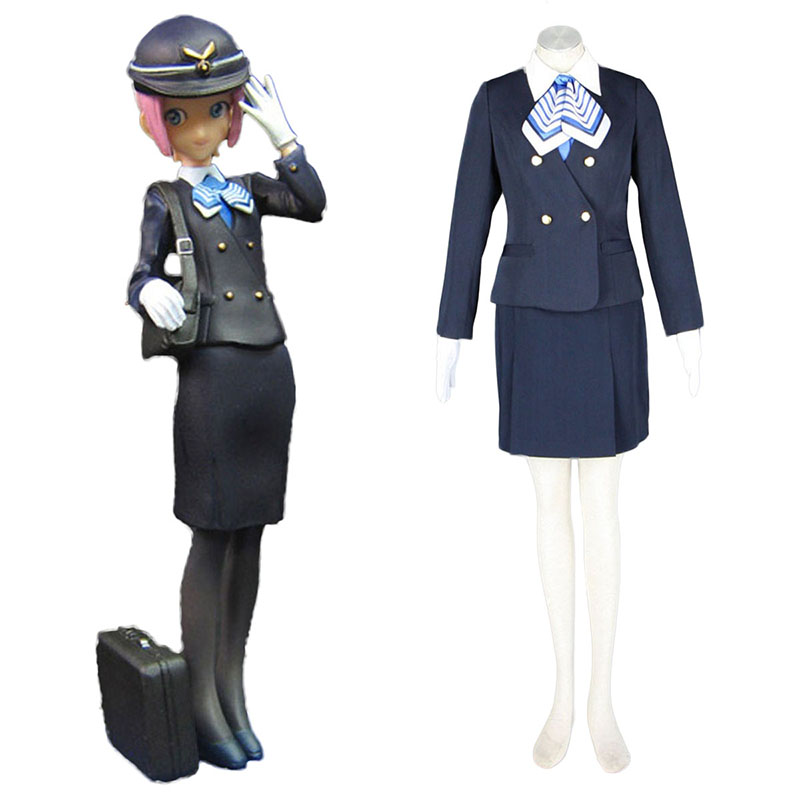 Disfraces Aviation Uniformes Culture Stewardess 7 Cosplay España Tiendas