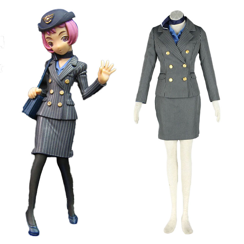 Disfraces Aviation Uniformes Culture Stewardess 8 Cosplay España Tiendas