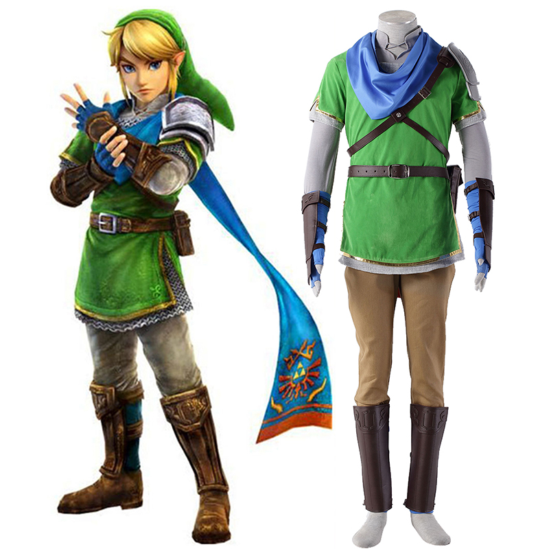 Disfraces The Legend of Zelda Hyrule-Warriors Link 5 Cosplay España Tiendas