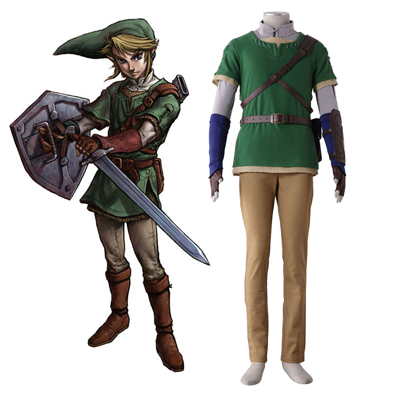 Disfraces The Legend of Zelda Twilight Princess Link 4 Cosplay España Tiendas