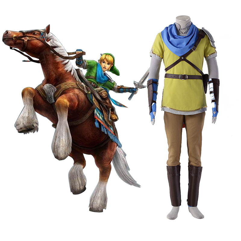 Disfraces The Legend of Zelda Hyrule-Warriors Link 7 Yellow Cosplay España Tiendas
