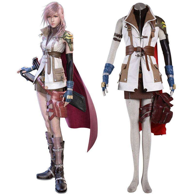 Disfraces Final Fantasy XIII Lightning 1 Cosplay España Tiendas