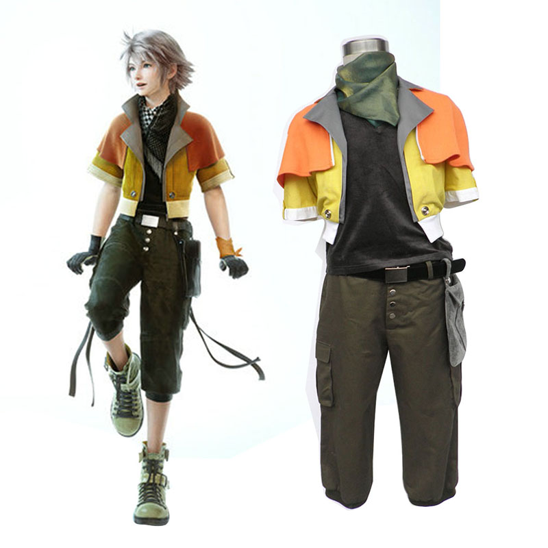 Disfraces Final Fantasy XIII Hope Estheim 1 Cosplay España Tiendas