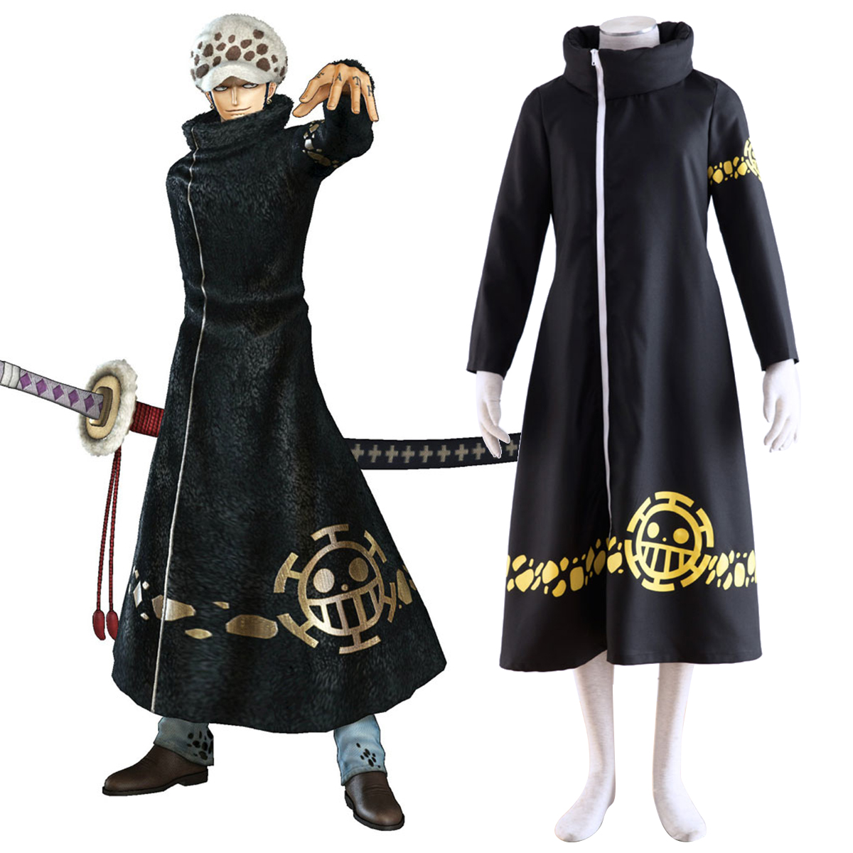 Disfraces One Piece Trafalgar Law 2 Cosplay España Tiendas