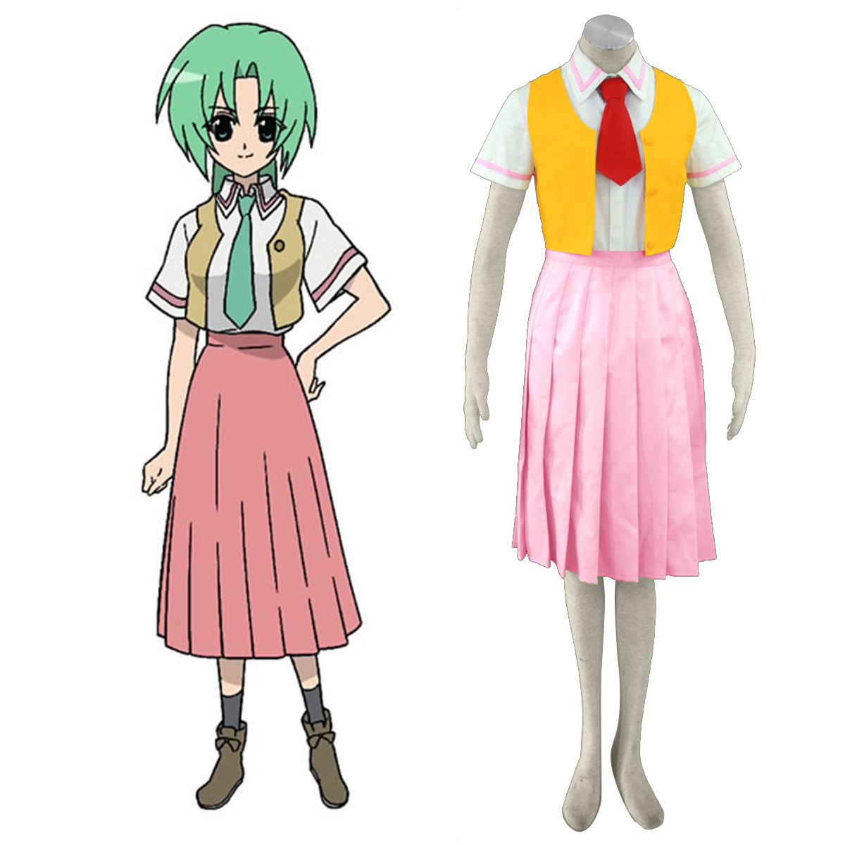 Disfraces Higurashi When They Cry Sonozaki Mion 1 Cosplay España Tiendas