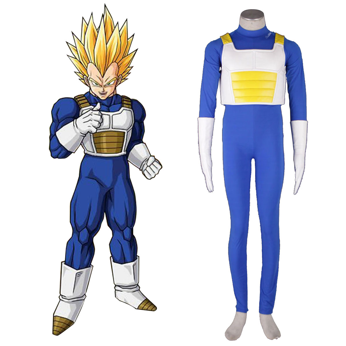 Disfraces Dragon Ball Vegeta 3 Cosplay España Tiendas
