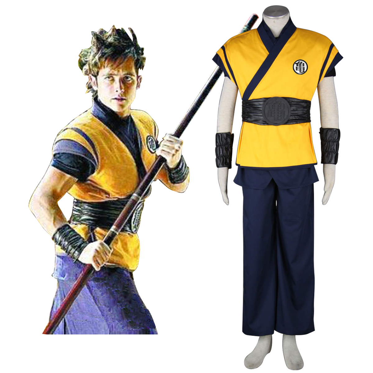 Disfraces Dragon Ball Son Goku 3 Cosplay España Tiendas