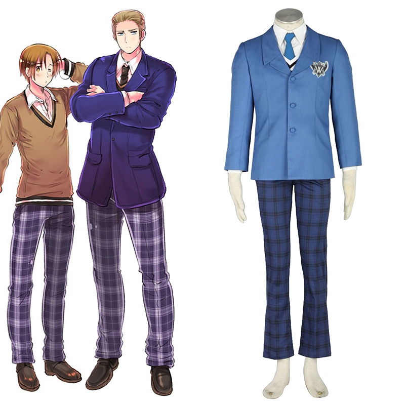 Disfraces Axis Powers Hetalia Invierno Male School Uniformes 1 Cosplay España Tiendas