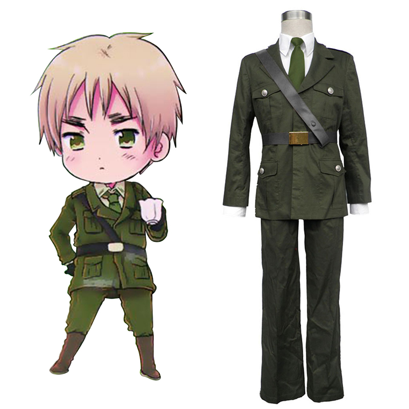 Disfraces Axis Powers Hetalia Arthur Kirkland Britain 1 Cosplay España Tiendas
