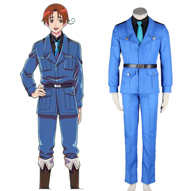 Disfraces Axis Powers Hetalia APH North Italy Feliciano Vargas 3 Cosplay España Tiendas