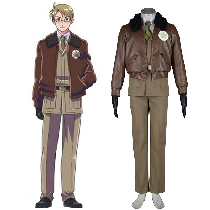 Disfraces Axis Powers Hetalia APH America Alfred F Jones 1 Cosplay España Tiendas