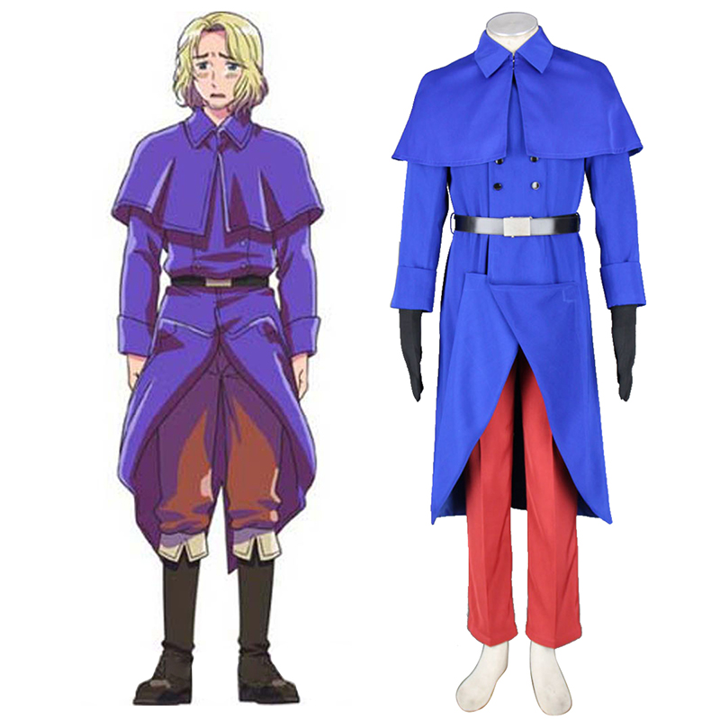 Disfraces Axis Powers Hetalia France Francis Bonnefeuille 1 Cosplay España Tiendas