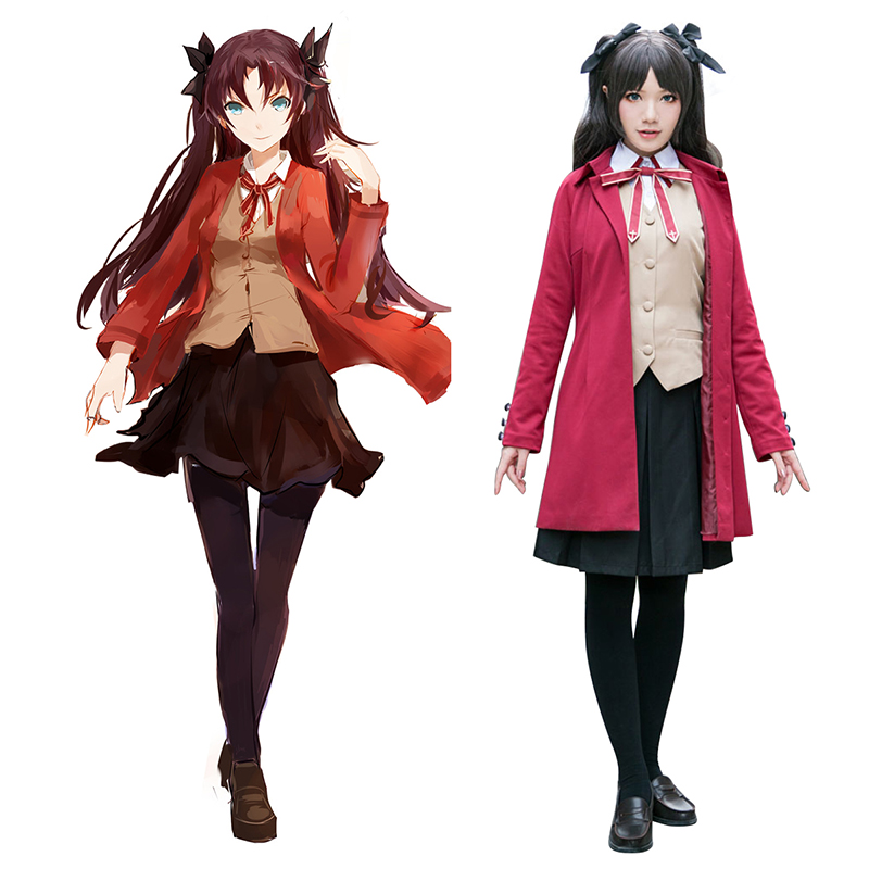 Disfraces The Holy Grail War Tohsaka Rin 5 Cosplay España Tiendas