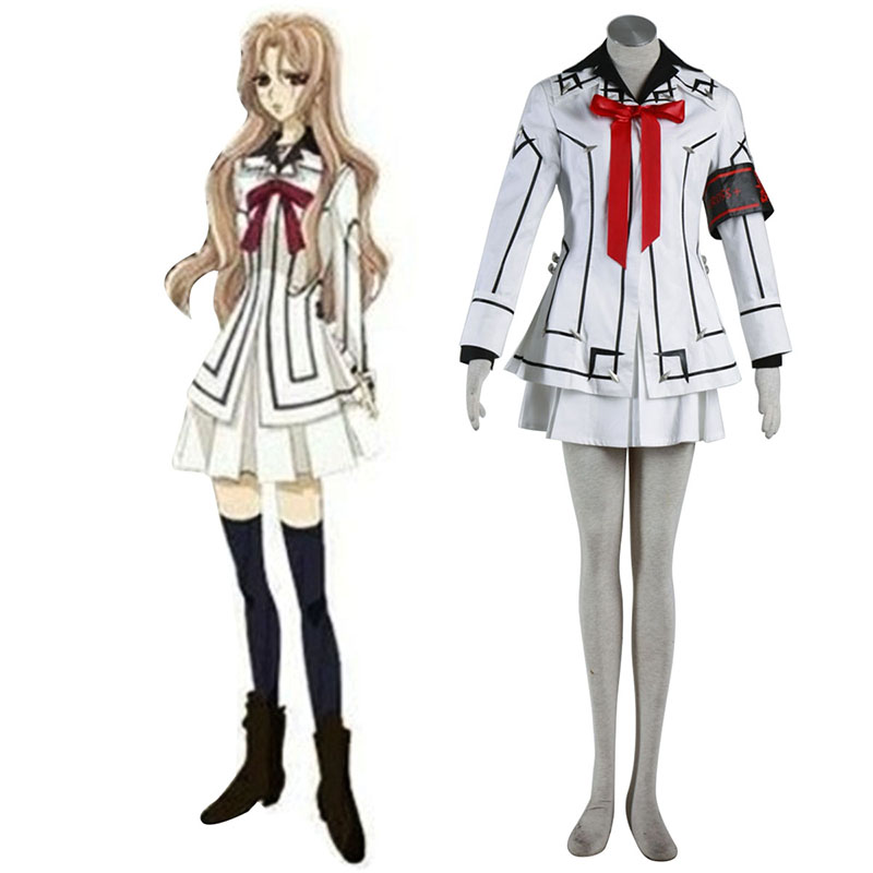 Disfraces Vampire Knight Night Class White Female School Uniformes Cosplay España Tiendas