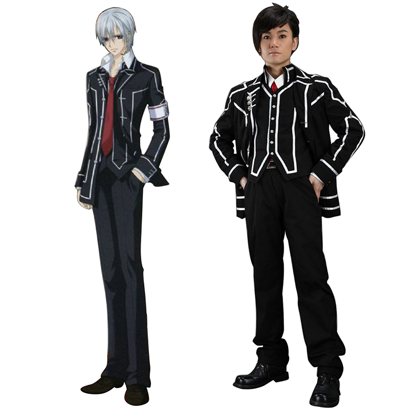 Disfraces Vampire Knight Day Class Negro Male School Uniformes Cosplay España Tiendas
