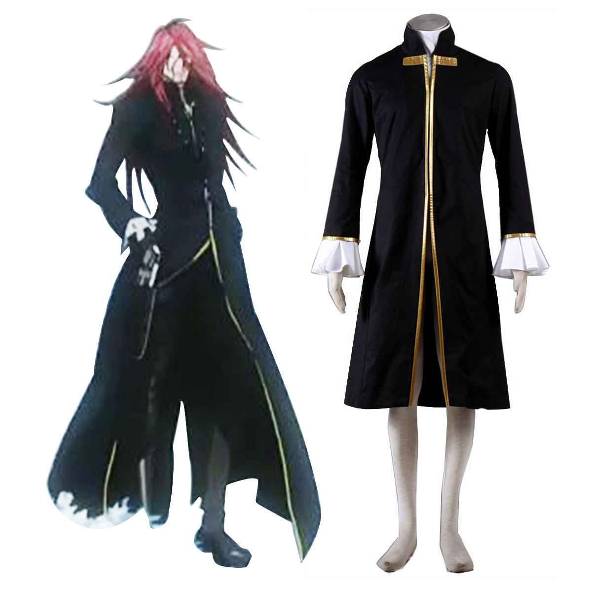 Disfraces D.Gray-man Cross Maria 1 Cosplay España Tiendas
