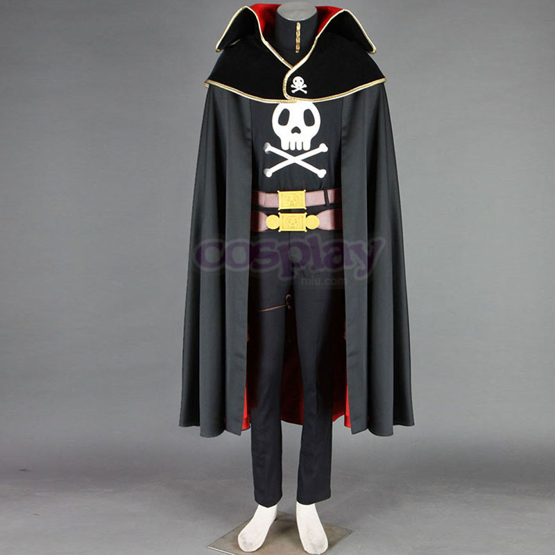 Disfraces Galaxy Express 999 Captain Harlock Cosplay España Tiendas