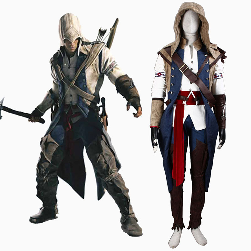 Disfraces Assassin's Creed III Assassin 7 Cosplay España Tiendas