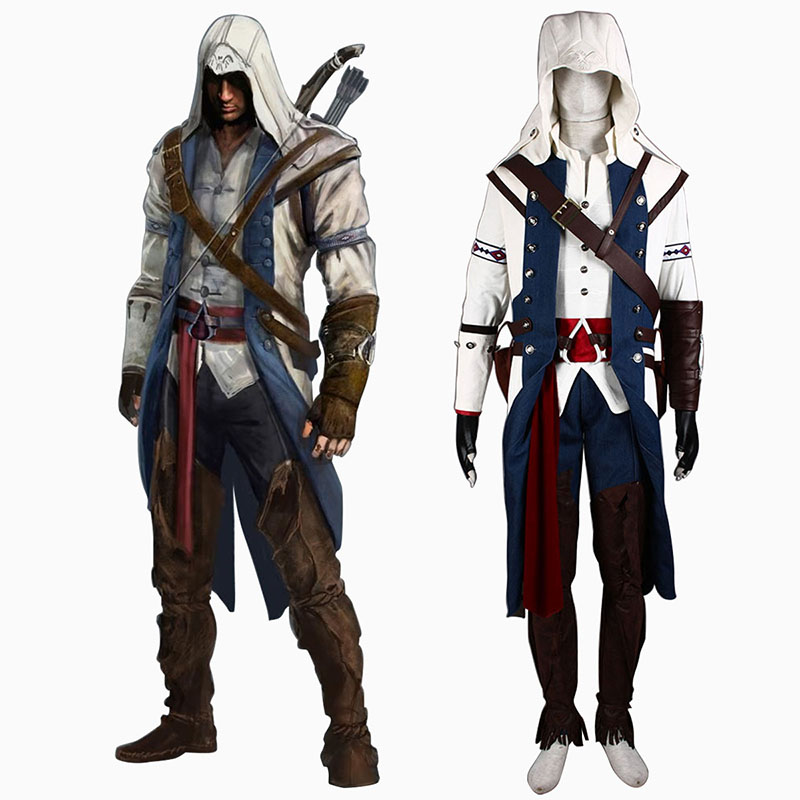 Disfraces Assassin's Creed III Assassin 8 Cosplay España Tiendas