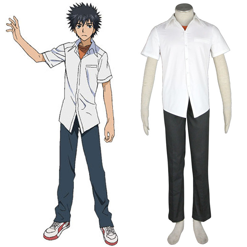 Disfraces A Certain Magical Index Kamijou Touma 1 Cosplay España Tiendas