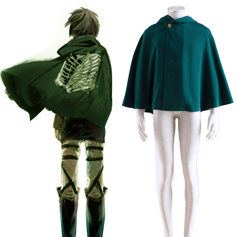 Disfraces Attack on Titan Survey Corps Cloak 2 Cosplay España Tiendas