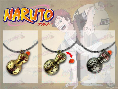 Aberturas collar de calabaza Naruto 3 colores disponibles