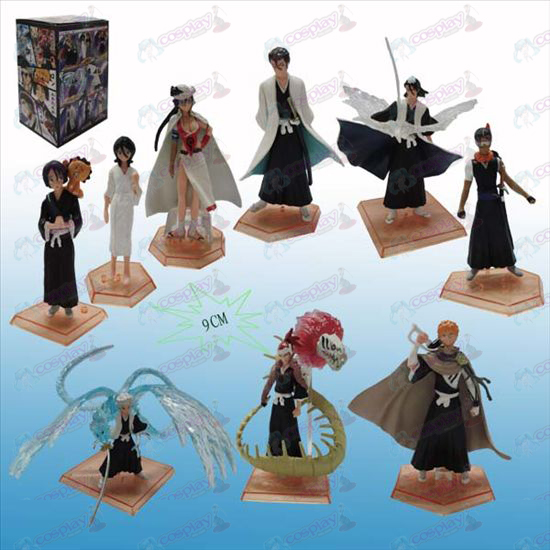 Genuine tres generaciones 9 Bleach Accesorios backplane Doll