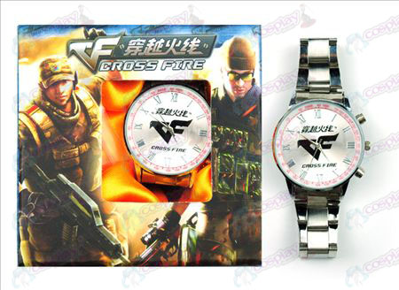 CrossFire Accesorios logo Watch (Red)