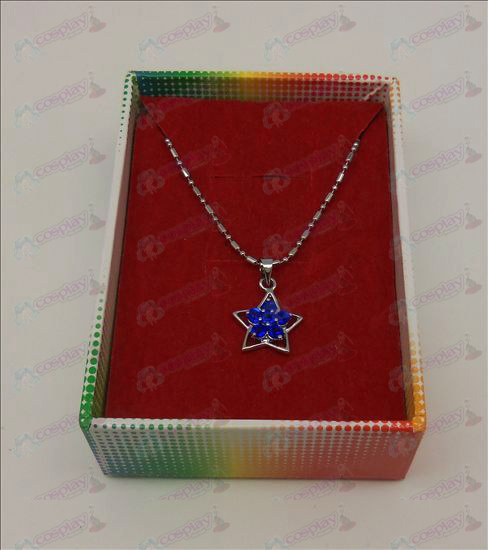 Lucky Star Accesorios Diamond Collar (azul)