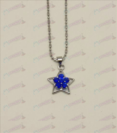Blister Lucky Star Accesorios Diamond Collar (azul)