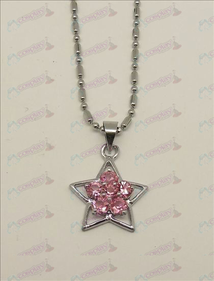 Blister Lucky Star Accesorios Collar de diamantes (rosa)