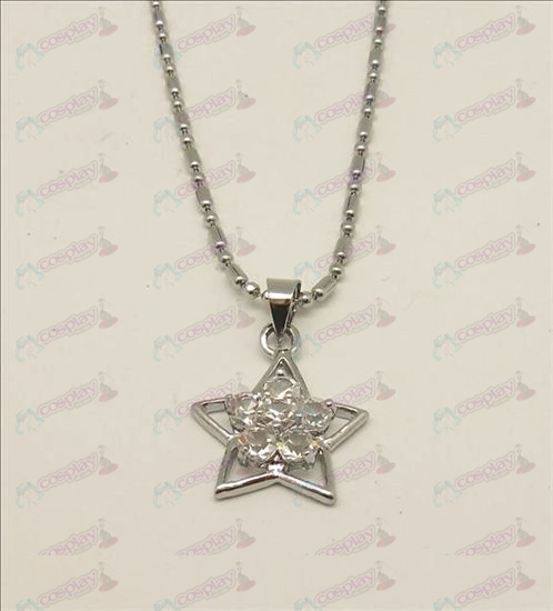 Blister Lucky Star Accesorios Diamond Collar (blanco)