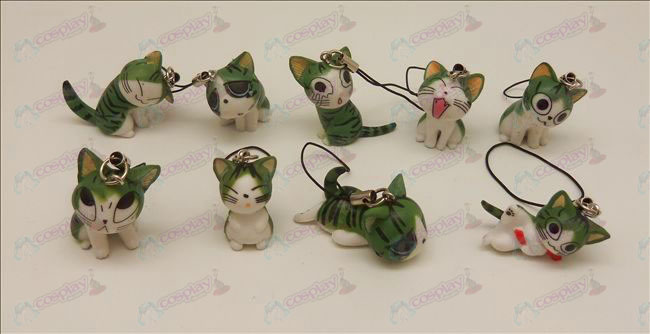 9 Sweet Cat Accesorios Correa Machine (verde)
