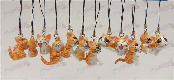 12 Sweet Cat Accesorios Toy Machine Correa (naranja)