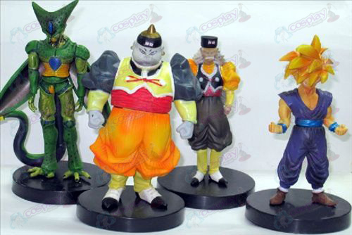 34 en representación de cuatro de ultra base de color Dragon Ball Accesorios