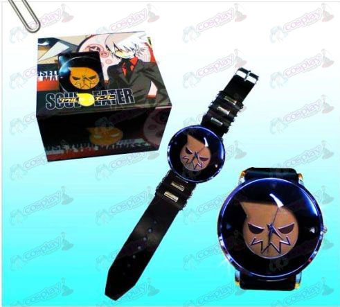 Soul Eater Accesorios Negro relojes