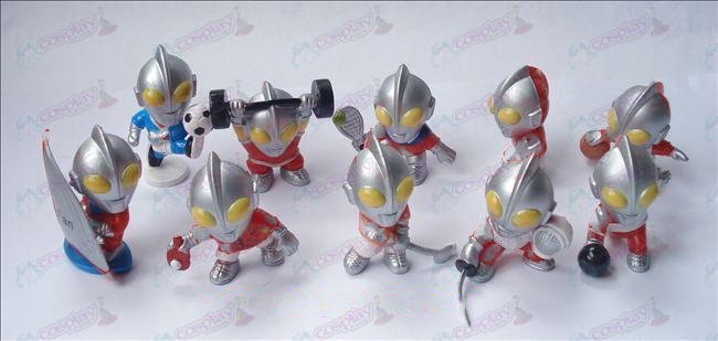 10 Superman Ultraman Accesorios Doll