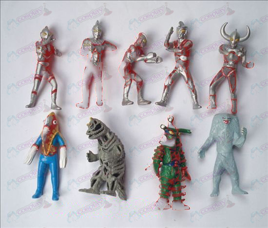 9 Superman Ultraman Accesorios Doll