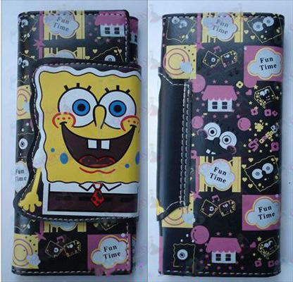 SpongeBob SquarePants Accesorios color de larga cartera 1 (B párrafo 1)