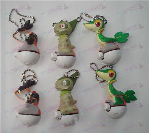 Genuine 6 Pokemon Accesorios Doll