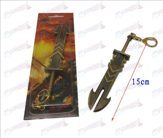 League of Legends Accesorios cuchillo de hebilla 13 (Bronce)