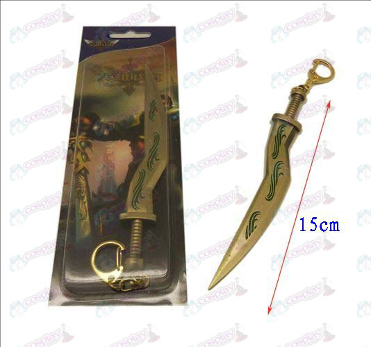 League of Legends Accesorios cuchillo de hebilla 11 (cobre)