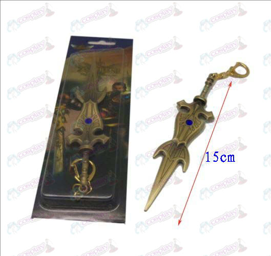League of Legends Accesorios cuchillo de hebilla 10 (cobre)